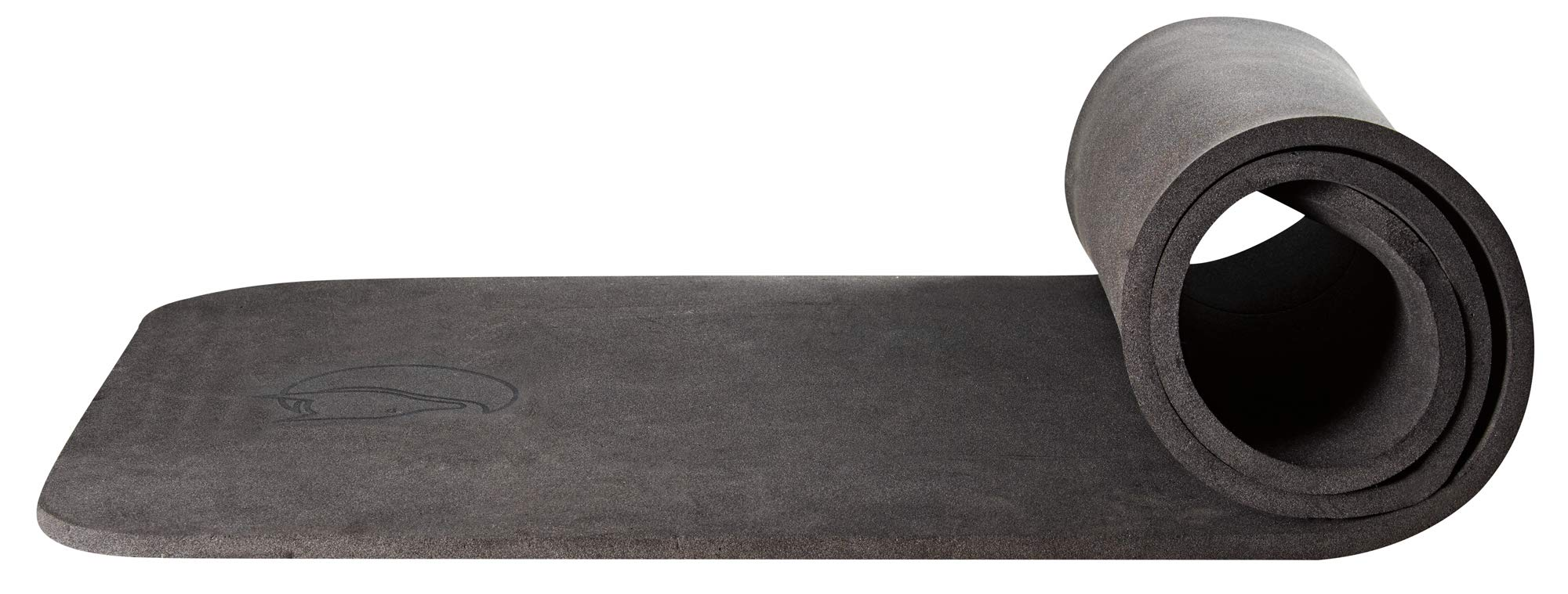 Fjällräven Unisex-Adult Ground Sheet 14 mm Isomatte, Black, 185 x 60 cm