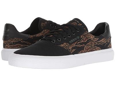 adidas Skateboarding 3MC (Black/Brown/Night Cargo) Men