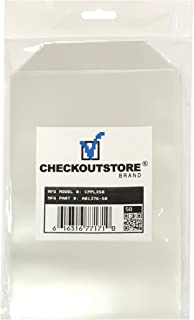 CheckOutStore 50 Clear Storage Pockets (5 5/8 x 8 1/2)