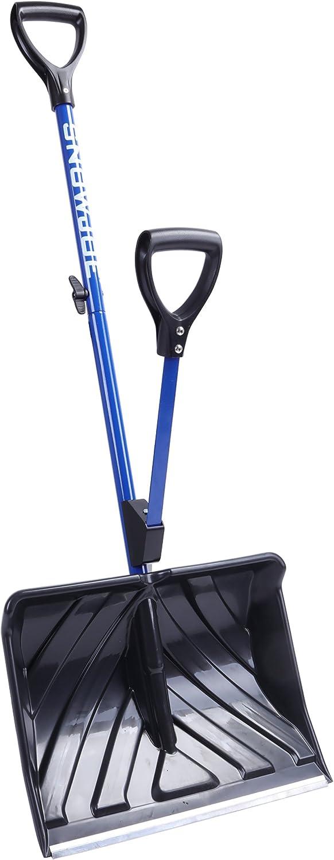 Snow Joe outlet SJ-SHLV01 Shovelution Chicago Mall 18- Strain-Reducing Shovel