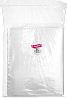 """[100 Bags 13"""" x 18""""] Zip'n'Close Disposable Plastic Resealable Reusable Bags, 2 Mill Thick, Great for Home, Office, Vacati..."""