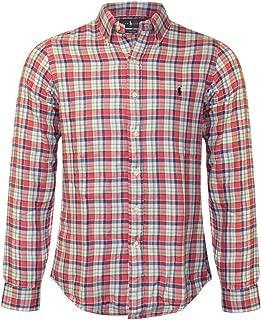 Men's Lightweight Classic Fit Flannel Shirt Long Sleeve Plaid Shirt