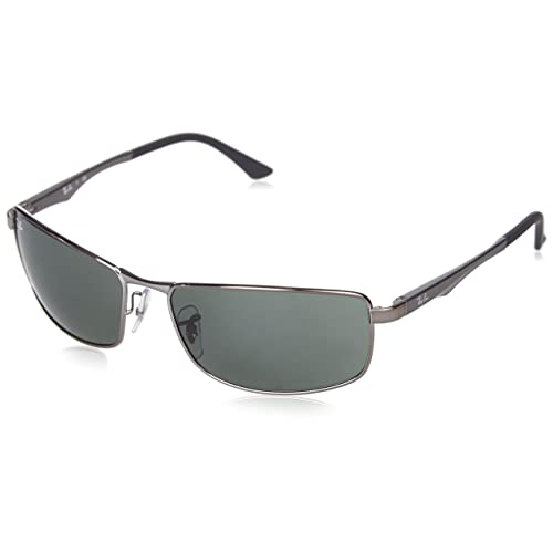 1ce0a493416 Ray-Ban 0RB3498 Rectangular Sunglasses