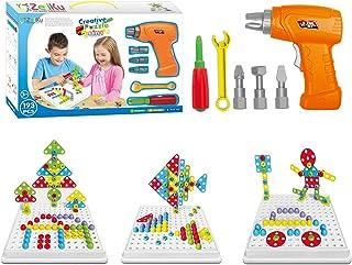 Educational Building Blocks Construction Game