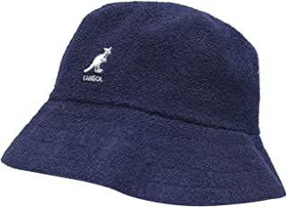 Kangol Mens Boucle Bucket Hat Navy L-XL