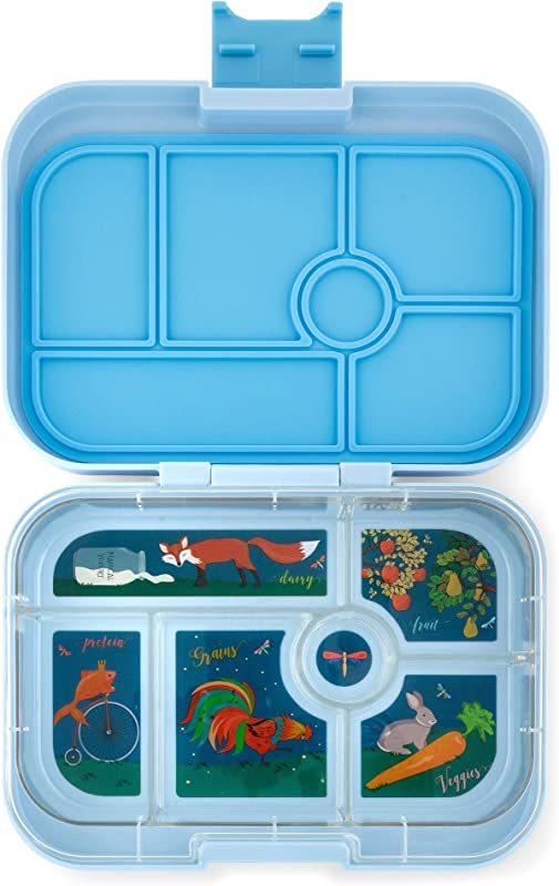 Yumbox Original Leakproof Bento Lunch Box Container For Kids Luna Blue