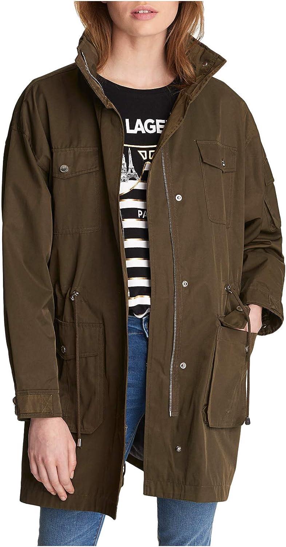 Karl Lagerfeld Paris Women's Anorak Jacket