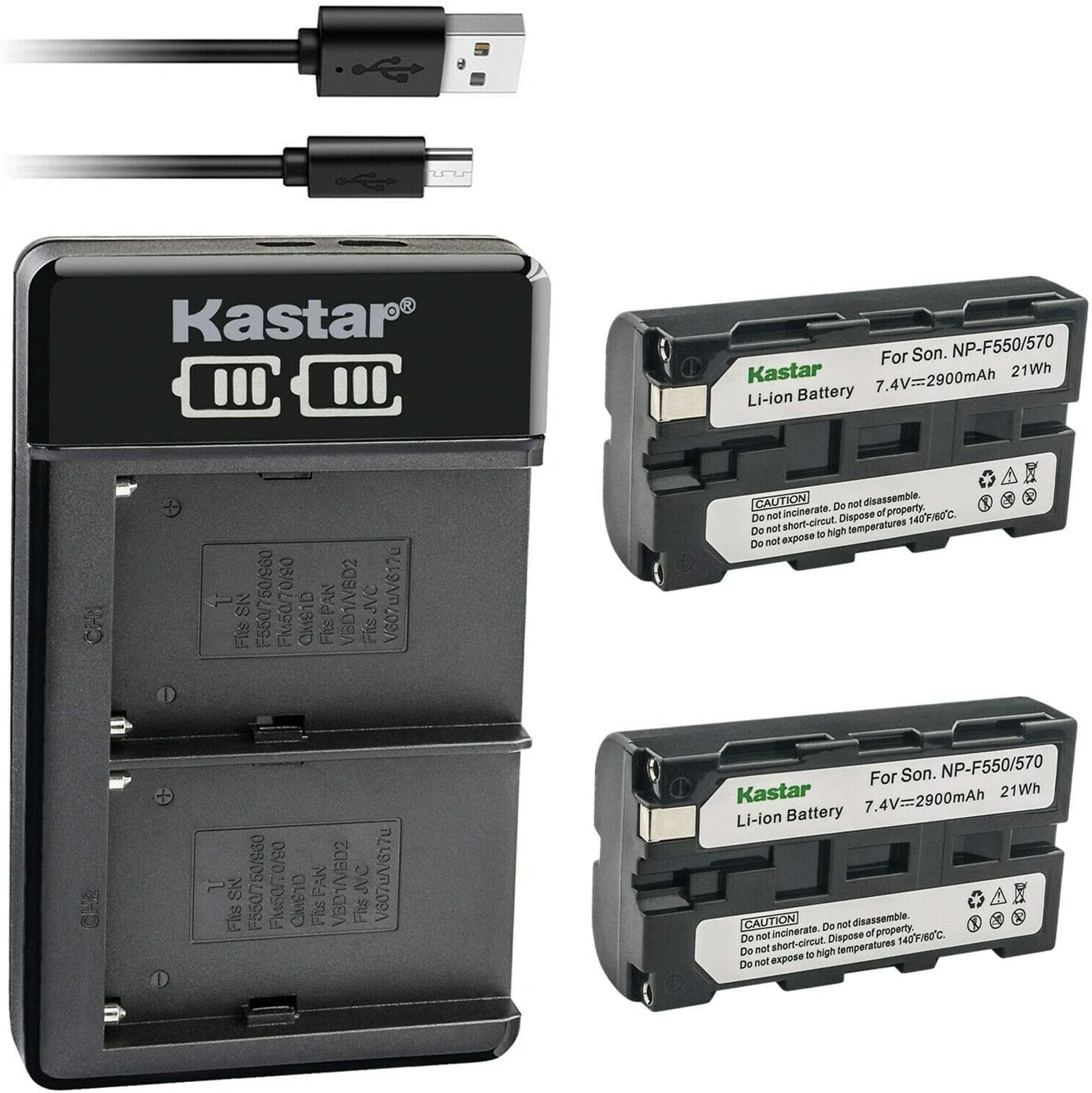 Kastar 2-Pack Battery and LKD2 USB excellence Z Compatible with ...