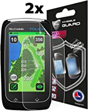 IPG Compatible with Anti - Glare SKYGOLF SkyCaddie GPS Rangefinder Touch Screen (2X) Invisible Film Screen Protector Guard Cover Free Lifetime Replacement Warranty Bubble -Free