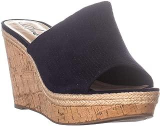AR35 Shira Slip On Wedge Sandals, Navy Perf