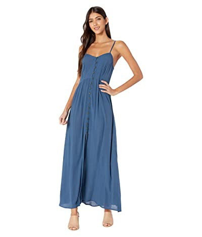 Rip Curl Sunsetters Solid Maxi Dress (Dark Blue) Women