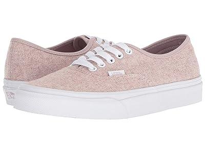 Vans Authentictm ((Flannel) Violet Ice/True White) Skate Shoes