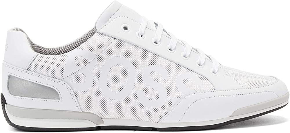 Boss saturn_lowp_ltpflg, scarpe da ginnastica,sneakers per uomo,in pelle 50452031