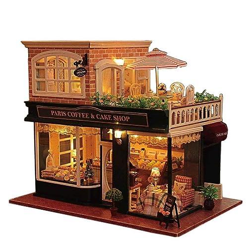 Incredible Miniature House Kits Amazon Com Download Free Architecture Designs Scobabritishbridgeorg