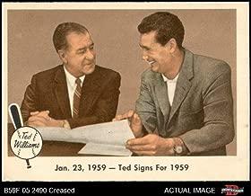 1959 fleer ted williams 68
