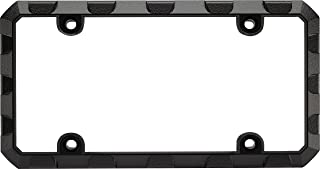 Custom Frames 92572 Black Heavy Duty Metal License Plate Frame (Truck Tuff)