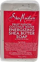 Shea Moisture Fruit Fusion Coconut Water Energizing Shea Butter Soap, 8 Ounce