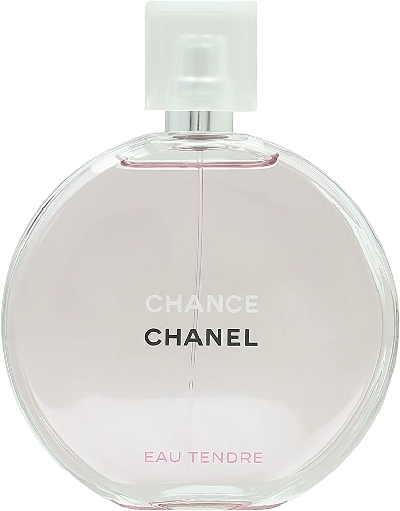 Chanel chance, eau tendre con vaporizzatore, 150 ml,profumo per donna,eau de toilette da donna 3145891263305