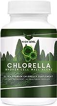 High Level Chlorella | Ultra Premium Pure Broken Cell Wall Algae | Natural Antioxidant Superfood | 60 Veget...