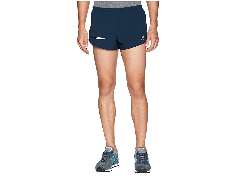 New Balance Impact Split Shorts 3 (Galaxy) Men