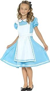 Smiffys Wonderland Princess Costume Blue M - Age 7-9 years