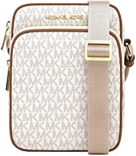 Michael Kors Jet Set Travel Signature PVC Medium Flight Bag