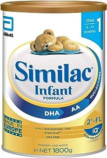 Abbott Similac 2'-FL Stage 1 Infant Milk Formula, 0-12 months , 1800g