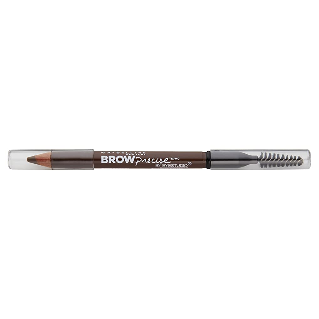 繕うパラダイス象Maybelline New York Eyestudioブロー精密成形鉛筆、ソフトブラウン、0.02オンス