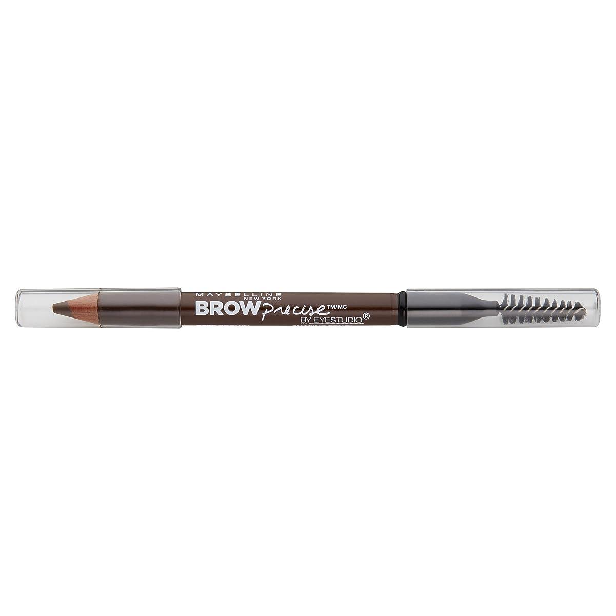 平等満了無効にするMaybelline New York Eyestudioブロー精密成形鉛筆、ソフトブラウン、0.02オンス