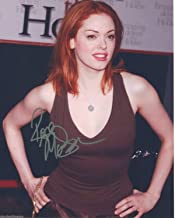 Rose McGowan Signed Charmed Chosen Grindhouse Nip/Tuck Color 8x10 Photo D