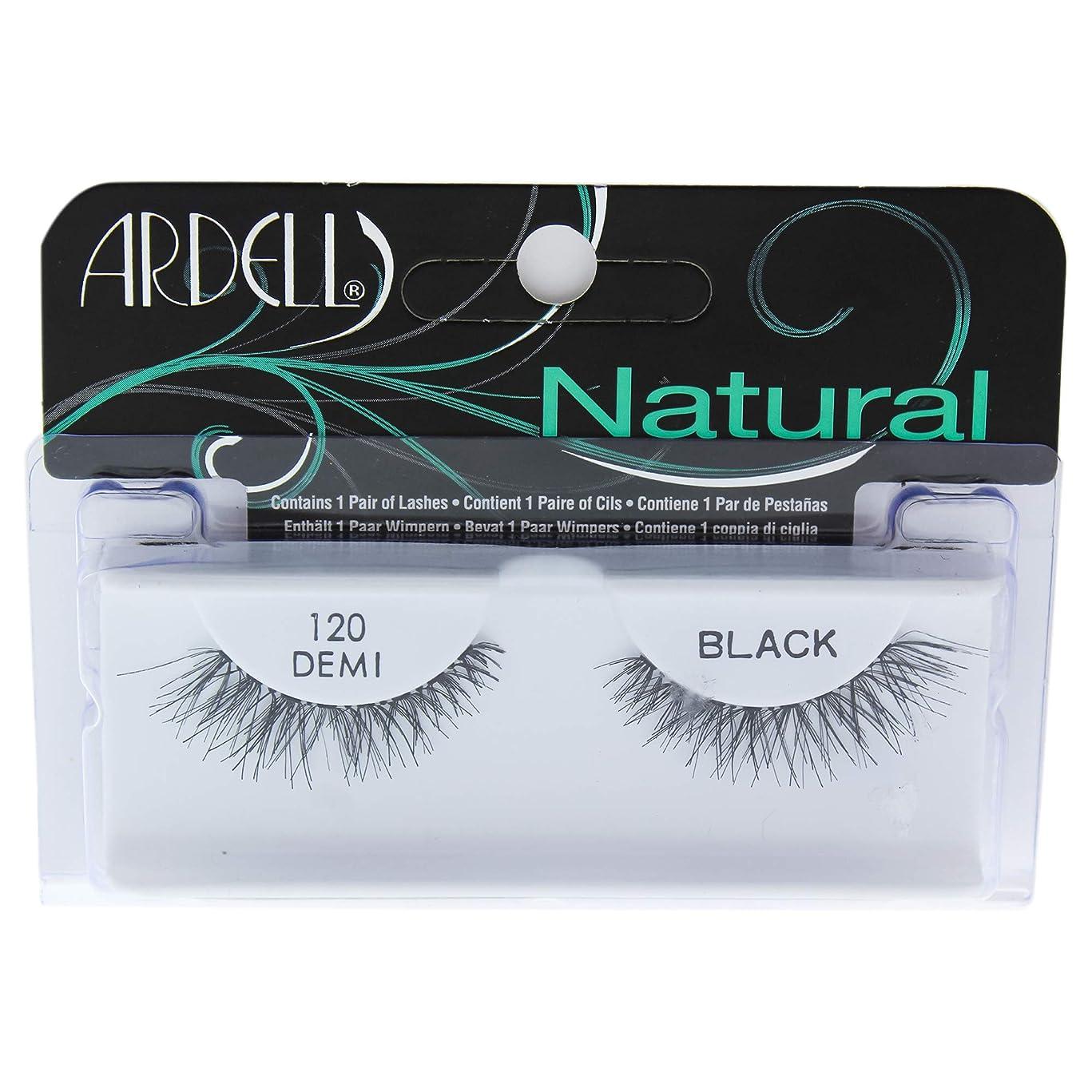 対象曖昧な印象派ARDELL False Eyelashes DEMI Fashion Lash Black 120 (並行輸入品)