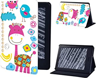 Anti-Dust Multicolor Leather Stand Cover Case for Amazon Kindle Paperwhite 1/2/3/4/Kindle 10Th 2019/Kindle 8Th 2016 Tablet...