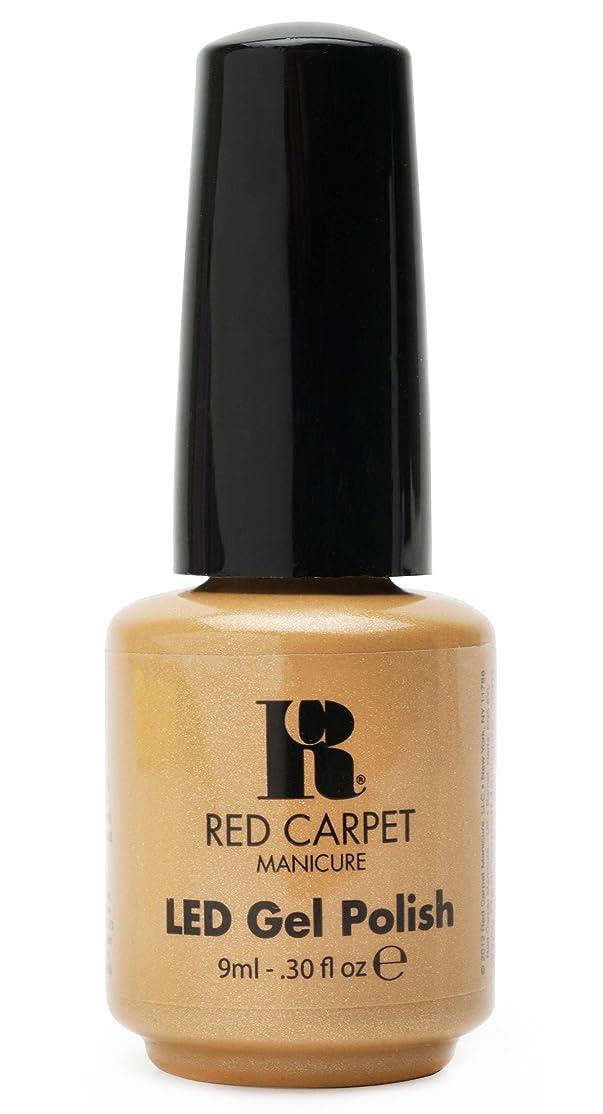 葉っぱチューブタンカーRed Carpet Manicure - LED Nail Gel Polish - I Am So Honored - 0.3oz/9ml