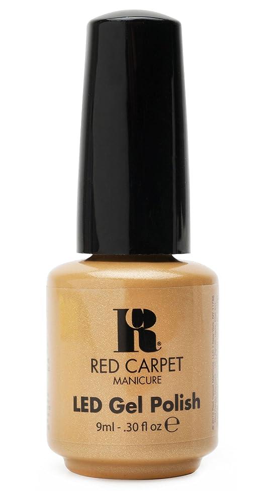オーブン浮くナチュラルRed Carpet Manicure - LED Nail Gel Polish - I Am So Honored - 0.3oz/9ml