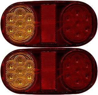 KKmoon Lampe de Clignotant de Voiture Clignotant de Lumi/ère de Coin Gauche pour B-MW 3 S/éries E46 Quatre Portes 1998-2001 63136902766