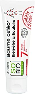 SO'BiO étic Organic Joint and Muscle Wellbeing Balm, 75 ml, Lot of 6