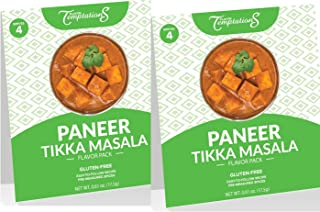 PANEER OR TOFU TIKKA MASALA INDIAN FOOD SPICES by Flavor Temptations. Home Cook CURRY Dishes with Beginner Seasoning Set. ...