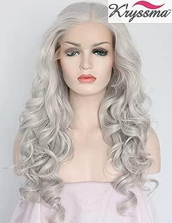 Best platinum silver lace front wig Reviews