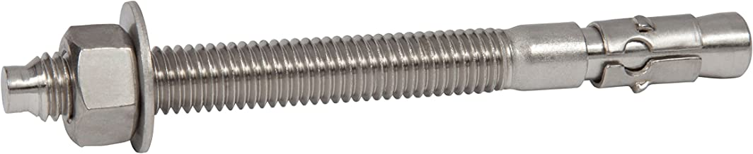 M10 x 80mm Concrete Brick Through Bolts Pack of 4 *Top Quality! Wall anchor