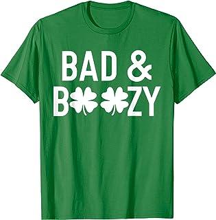 St Patricks Day Beer Pint Shamrock Ireland JUNRS T-Shirt Sassy Irish Lassie