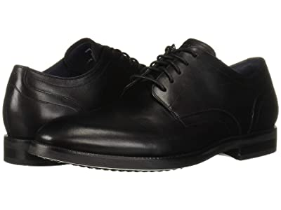 Cole Haan Lewis Grand 2.0 Plain Toe Oxford (Black) Men
