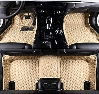 LIGAPLO for Dodge Challenger 2011-2019 Car Floor Mats Custom Fit All-Weather 3D Covered Car mat Carpet FloorLiner Floor Auto Mats (Beige, 2019)