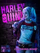 Harley Quinn Coloring Book: Coloring Book for Kids and Adults with Fun, Easy, and Relaxing Coloring Pages (Coloring Books for Adults and Kids 2-4 4-8 8-12+)