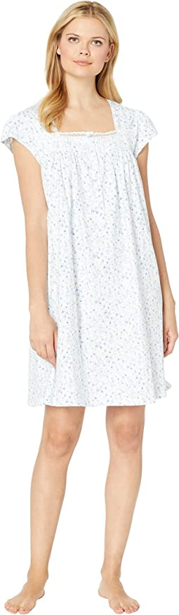 Cotton Jersey Short Nightgown