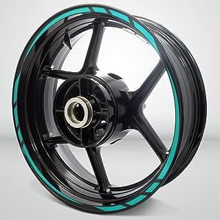 Rapid Outer Rim Liner Stripe for Suzuki Bandit 1200 Matte Turquoise