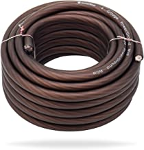 InstallGear 4 Gauge Black 25ft Power/Ground Wire True Spec and Soft Touch Cable