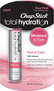 ChapStick Total Hydration Rose Petal 0.12 oz (Pack of 2)