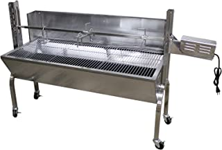 commercial rotisserie smokers