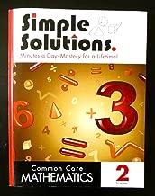 Simple Solutions Common Core Mathematics 2 1st Semester