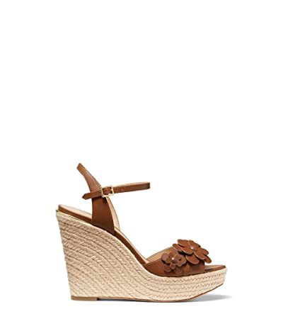 MICHAEL Michael Kors Flora Wedge (Luggage) Women